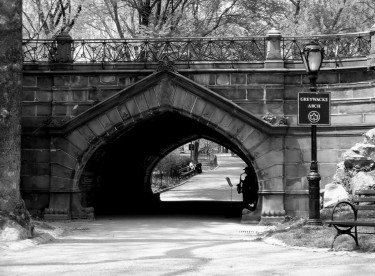 Sax under the bridge