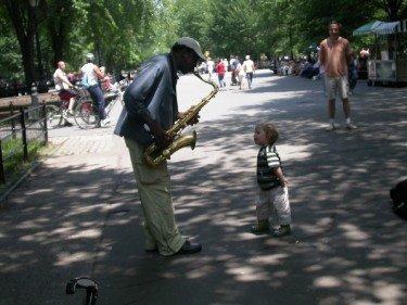 young jazz fan