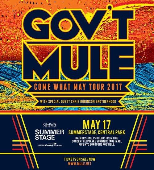 Gov't Mule Central Park SummerStage 2017