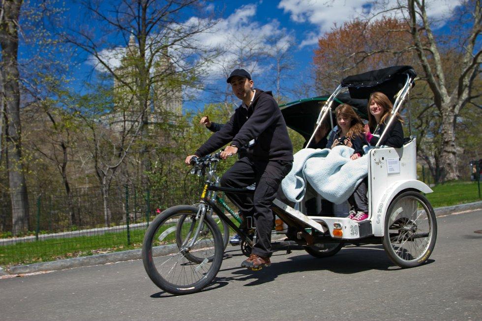 Pedicab Tour