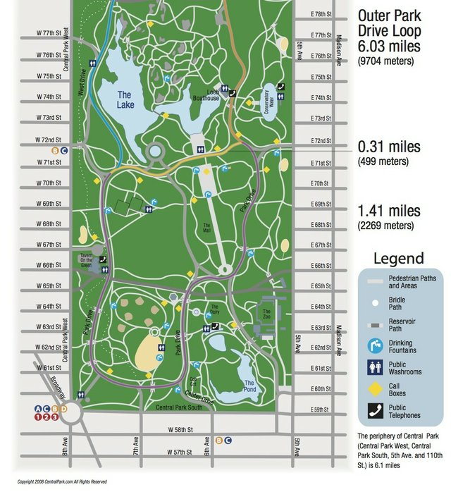 Central Park Running Map_thumbnail