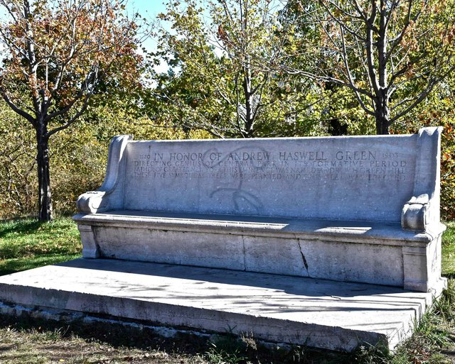 Andrew H. Green Bench