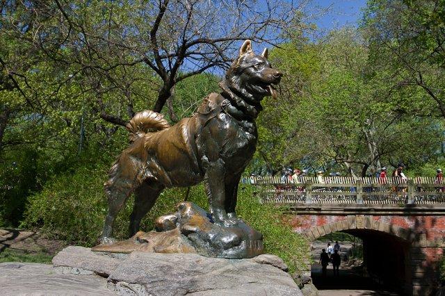 Balto Statue in Central Park