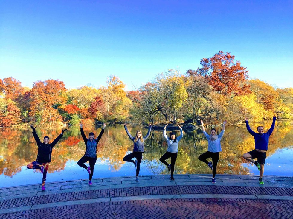 central park yoga and fitness classes