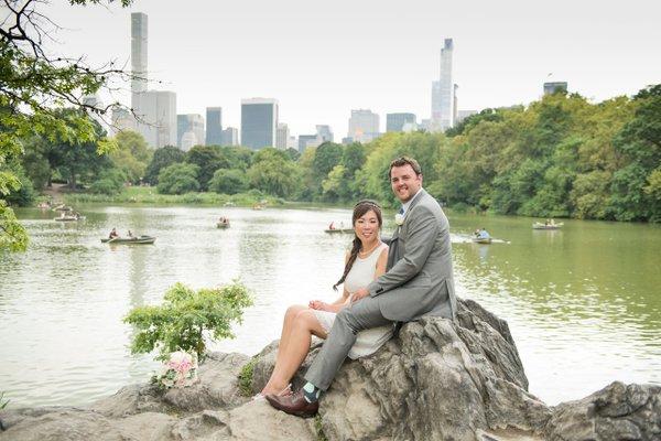 Wedding Couple on Rock.jpg