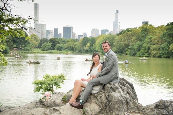 Wedding Couple on Rock.jpg