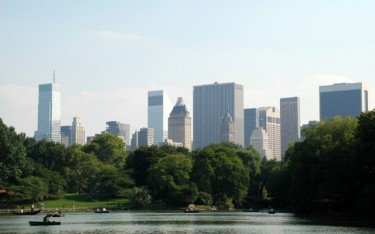 View of 59thStreet Skyline From Central Park
