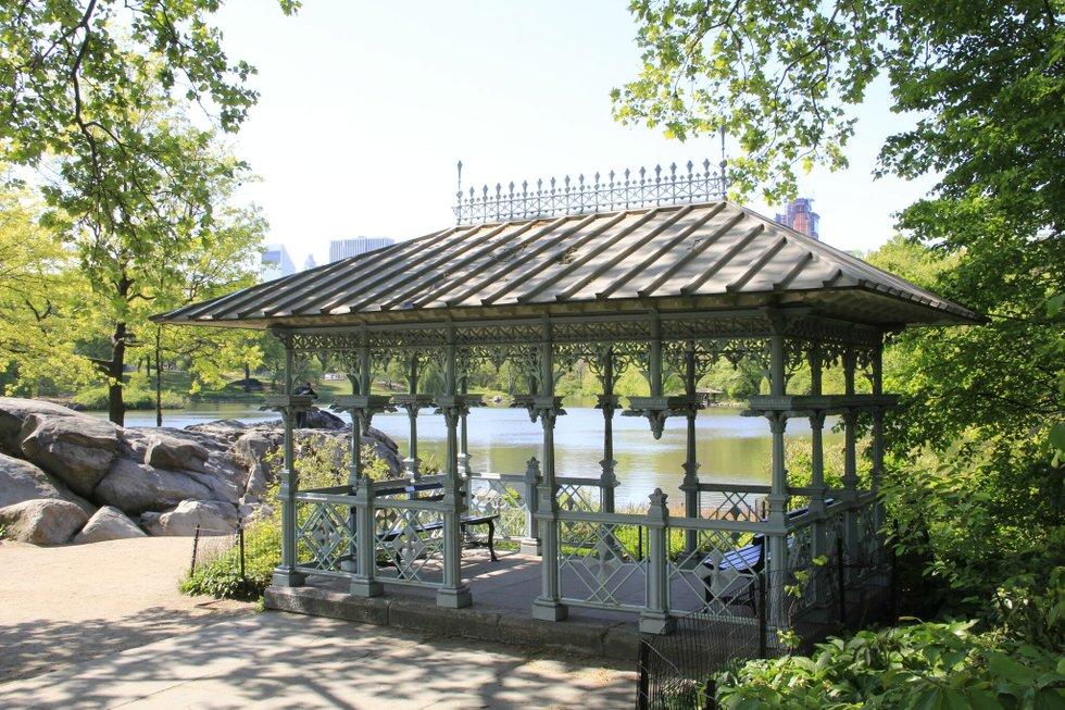 Ladies Pavilion In Central Park