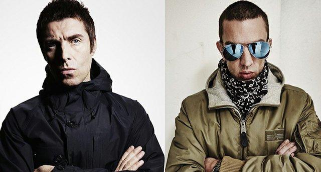 Liam Gallagher and Richard Ashcroft