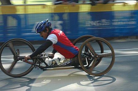 1st Handcyclist