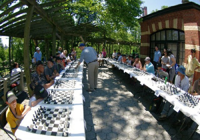 Chess lecture and Simul Series
