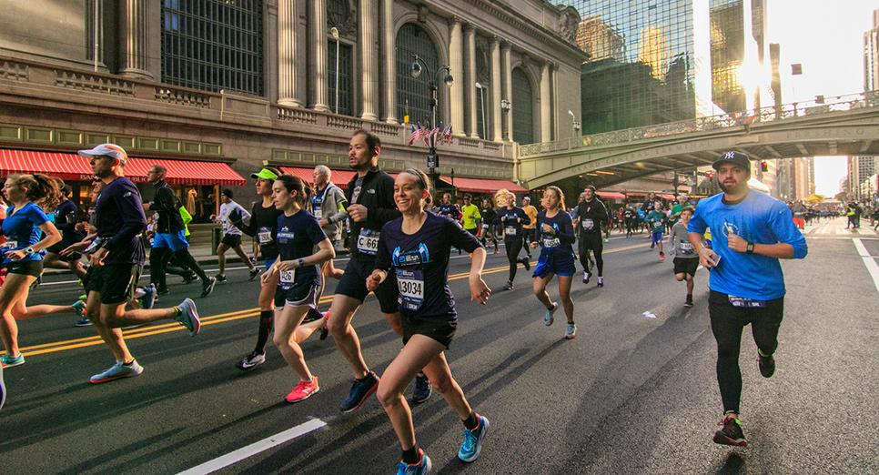 tcs nyc marathon in central park