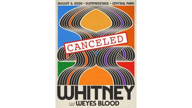whitney canceled