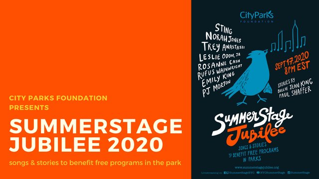 Summerstage Jubilee 2020