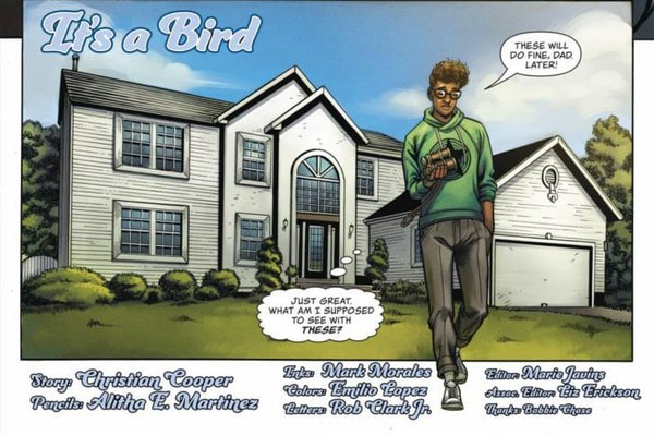 Christian Cooper Comic