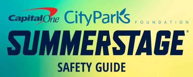 SummerStage Safety