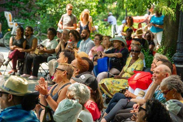 Harlem Meer Festival Audience