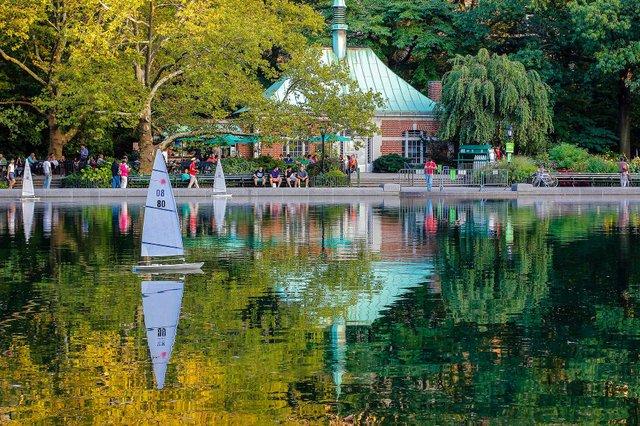 Conservatory Lake