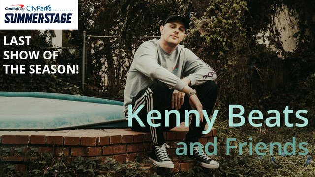 Kenny Beats SummerStage
